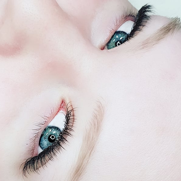 This is what Classic lashes look like wh