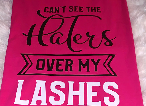 Can't see the haters over my lashes