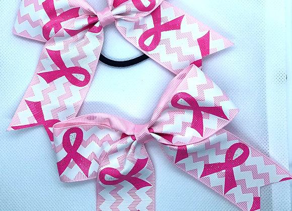 Little girls  awareness bows