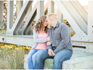 Danielle + Dakota | Couples Session | Camp Lejeune Photographer