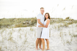 onslow beach couples session