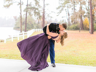 Sarah & Luke | USMC Ball | Jacksonville, NC Photographer