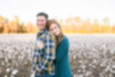couples cotton field jacksonville, nc photographer