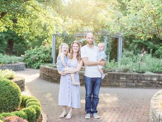 Ferris Family | Summer at Inniswood |  Columbus, Ohio Photographer