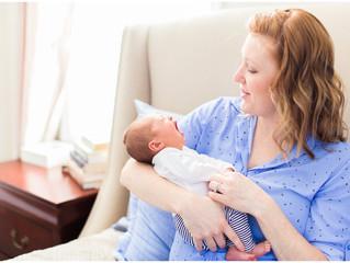 Baby Cora | Lifestyle Newborn | Jacksonville, NC Photographer