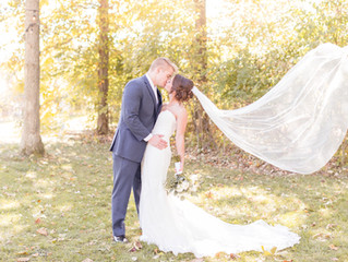 Marissa + Brad | October Wedding | Columbus, Ohio Photographer