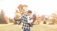 Kristy + Kyle | Fall Engagement | Columbus, Ohio Photographer