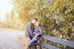 columbus ohio fall couples session