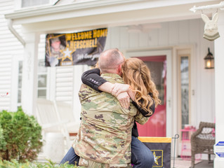 Welcome Home Soldier | Army Homecoming | Columbus, Ohio Photographer