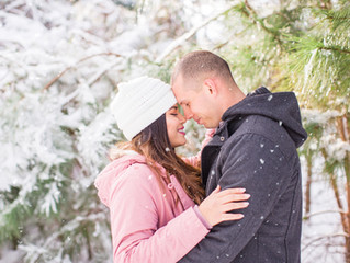 Mini Snow Sessions | Jacksonville, NC Photographer