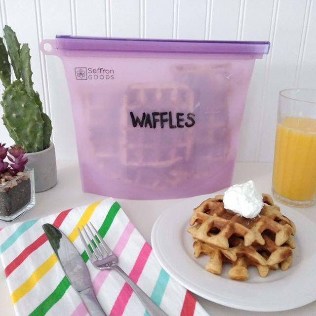 Make Ahead Pumpkin Waffles