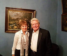Bettina Weverinck und Joachim Gauck, 18.10.2019, Theater Münster