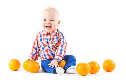 Профессиональное фото малышей в студии