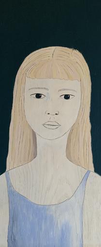 Transparent girl