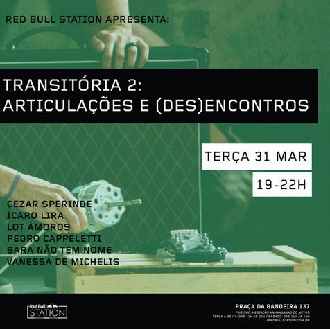 flyer galeria transitória