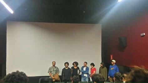 apresentação dos artistas antes dos vídeos serem exibidos