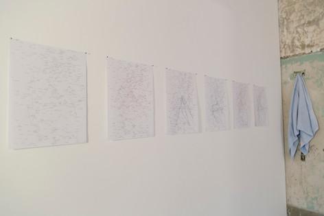 instalação ômega, arte gráfica de pedro veneroso
