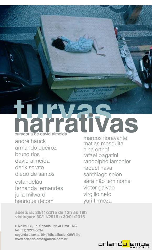 flyer turvas narrativas