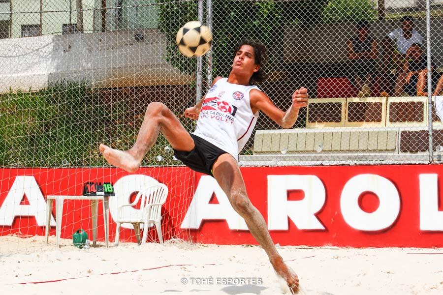 Gabiru joga desde a infância. (foto André Pereira / Tchê Esportes)