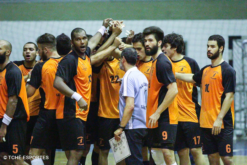 Equipe do São Caetano. (foto arquivo Tchê Esportes)