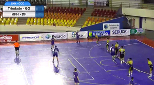 Trindade/Gov. Goiás/Pro Esporte/Handesfa (GO) 34 x 20 KFH/ARUC (DF) (foto reprodução EsporteNet)