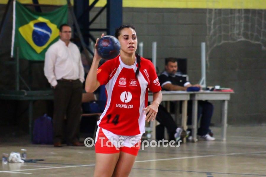 Jaqueline Dias, Jundiaí, destaque do jogo. (foto André Pereira / Tchê Esportes)