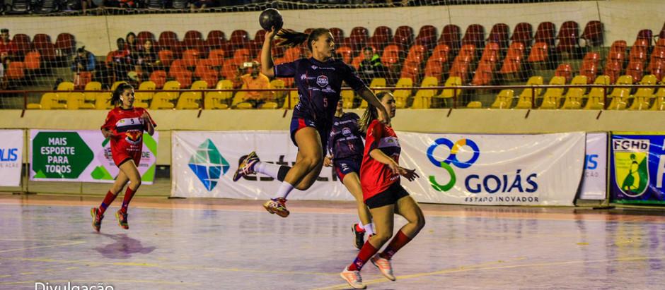 Rodada da Conferência Centro-Oeste da Liga Nacional de Handebol tem início com jogos do feminino