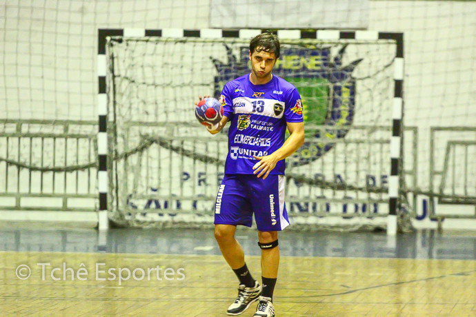 Diogo Hübner (Taubaté), foto arquivo Tchê Esportes
