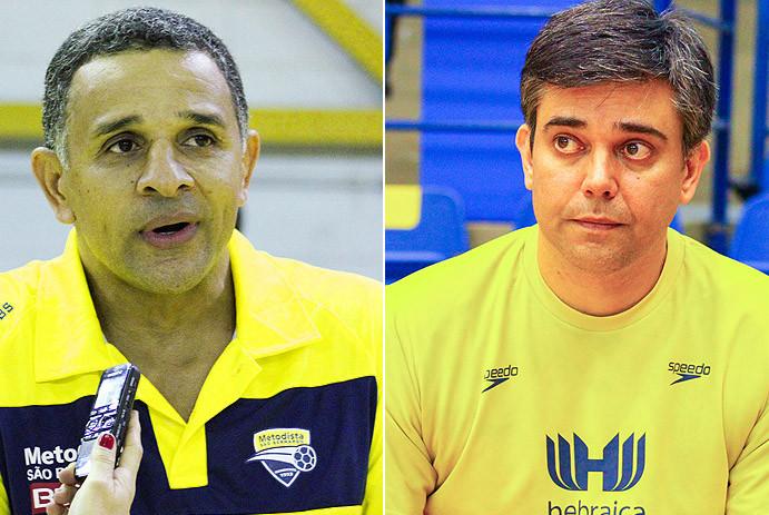 José Ronaldo e Álvaro Herdeiro. (foto arquivo Tchê Esportes)