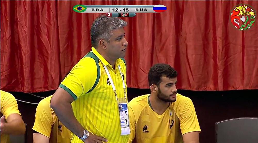 Helinho, técnico da Seleção Brasileira Junior Masculina. (foto reprodução divulgação do evento)