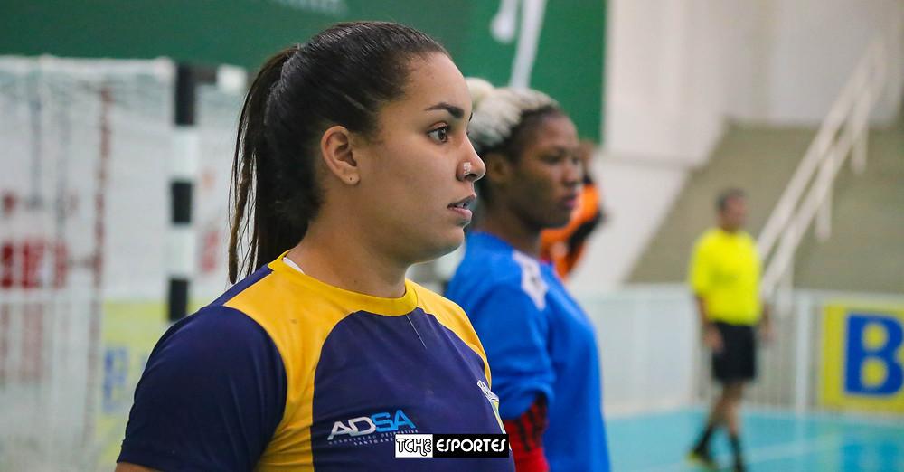 Jéssica, ponta esquerda do Santo André. (foto André Pereira / Tchê Esportes)