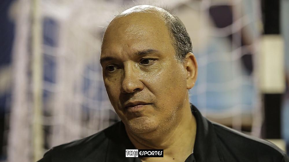 Sergio Hortelan, técnico do EC Pinheiros. (foto arquivo Tchê Esportes)