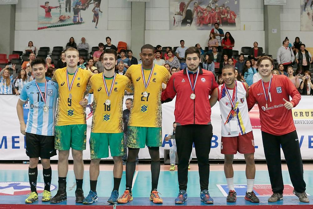 Seleção do Pan Juvenil 2017. (foto Divulgação)