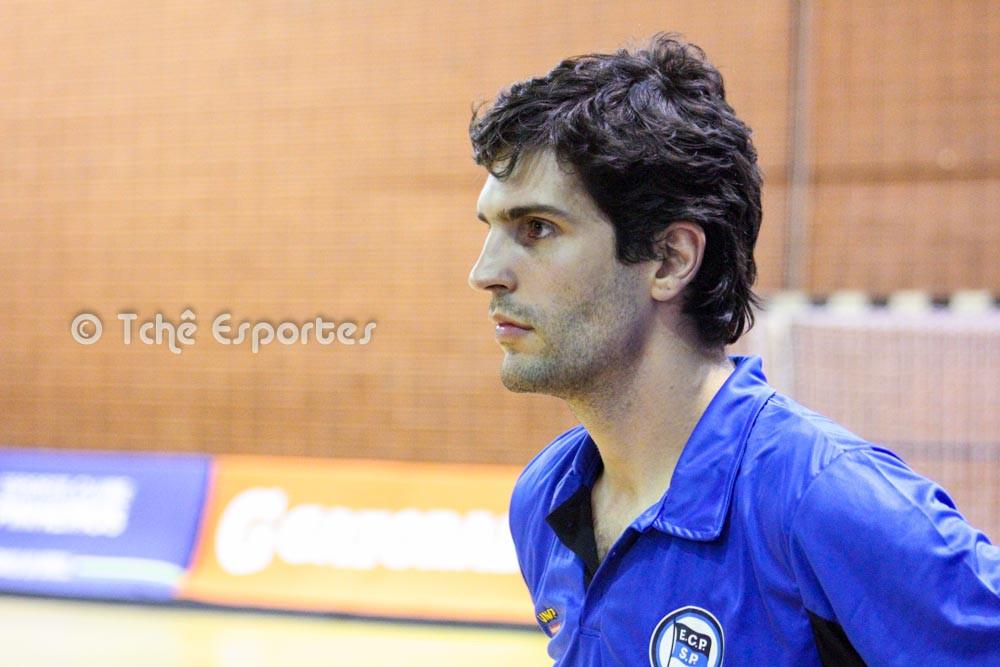 Alex Aprile, Técnico do EC Pinheiros (foto André Pereira / Tchê Esportes)