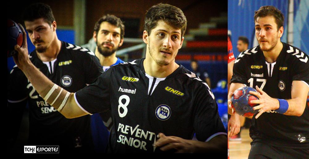 Arthur Peão e Rudolph Hackbarth, atletas do EC Pinheiros. (arquivo Tchê Esportes)