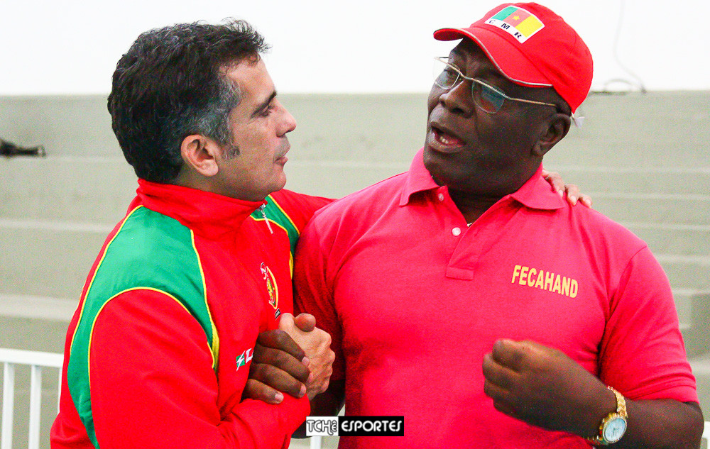 Paulo Pan, à esquerda, diretor da Paulo Pan Sports. (foto André Pereira / Tchê Esportes)