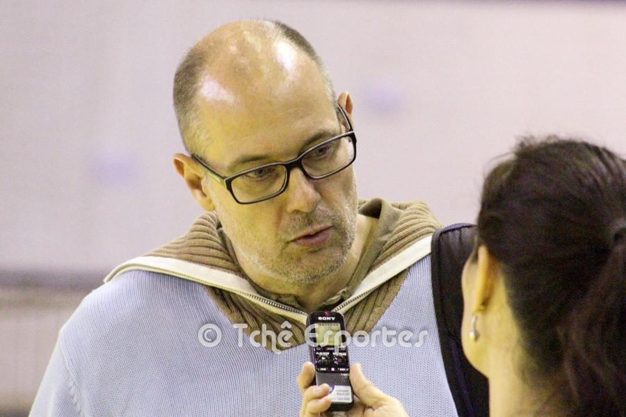 Morten Soubak, técnico da seleção. (foto André Pereira / Tchê Esportes)