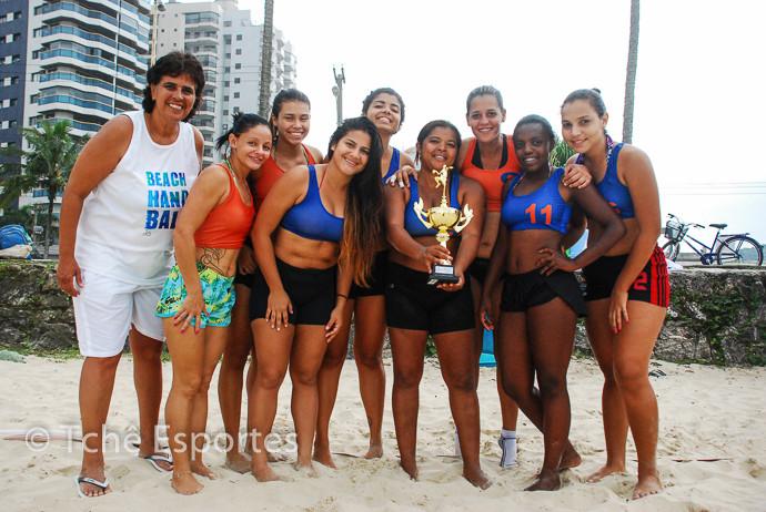 equipe Guarujá A (azul), Campeã Feminina