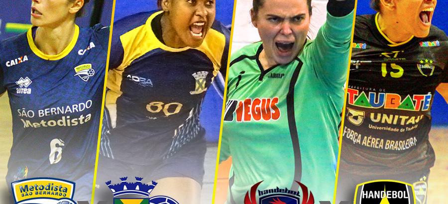 Semifinais do Super Paulistão Feminino de Handebol pode definir finalista nesta terça