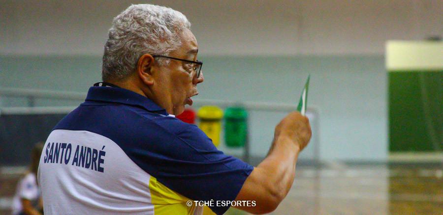 Rubens Piazza, técnico do Santo André. (foto arquivo Tchê Esportes)