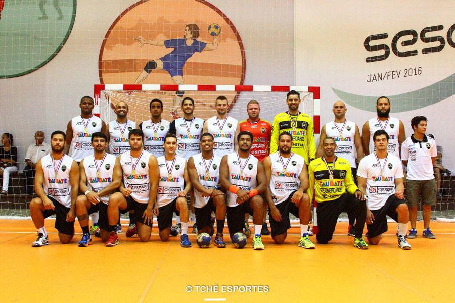 Equipe de Taubaté. (foto André Pereira / Tchê Esportes)