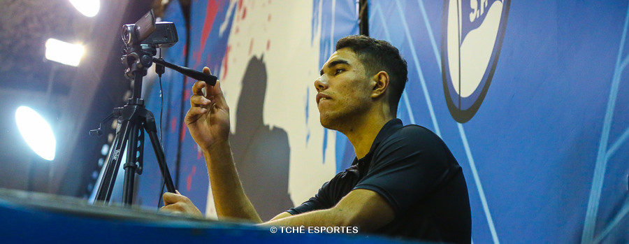 João Ribeiro, do EC Pinheiros. (foto André Pereira / Tchê Esportes)
