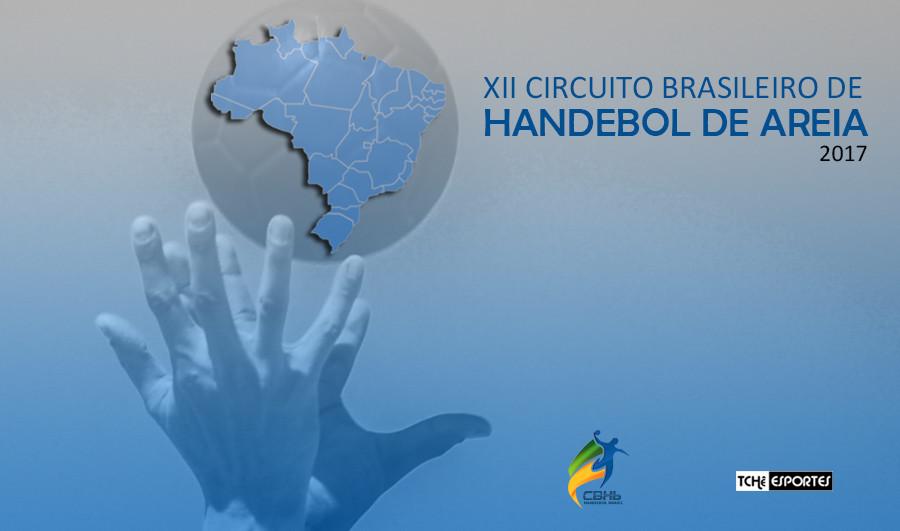 Circuito Brasileiro de Handebol de Areia (arte Tchê Esportes)