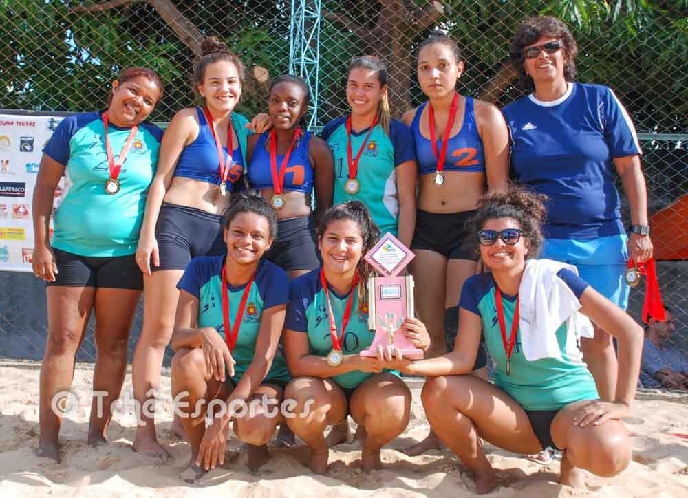 Guarujá B, 3ª colocada. (foto André Pereira / Tchê Esportes)