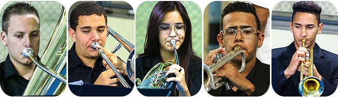 Quinteto de Metais, Projeto educando com música e cidadania. (foto/arte André Pereira /Tchê Esportes)