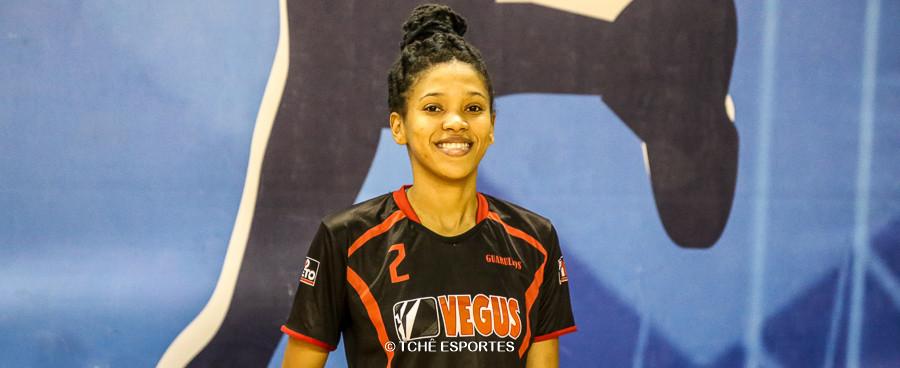 Bruna Barbosa, do Guarulhos. (foto arquivo Tchê Esportes)