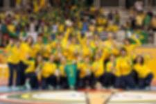 Seleção Brasileira de Handebol Feminino. (foto Cinara Piccolo / Photo&Grafia)