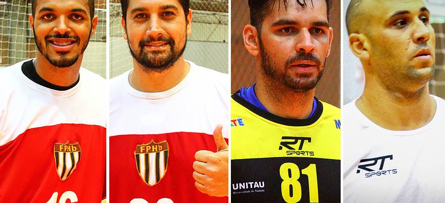 A palavra das estrelas no jogo entre Seleção Paulista e Taubaté