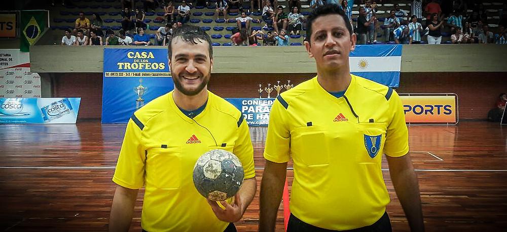 Adriano Rocha e Daniel Magalhães. (foto arquivo pessoal)