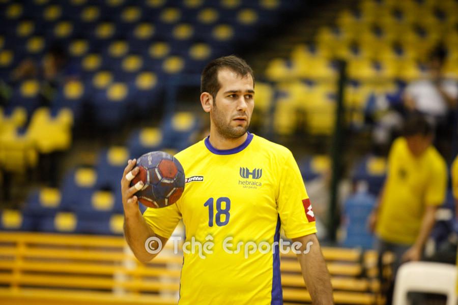 Renato Cher, Hebraica. (foto arquivo Tchê Esportes)